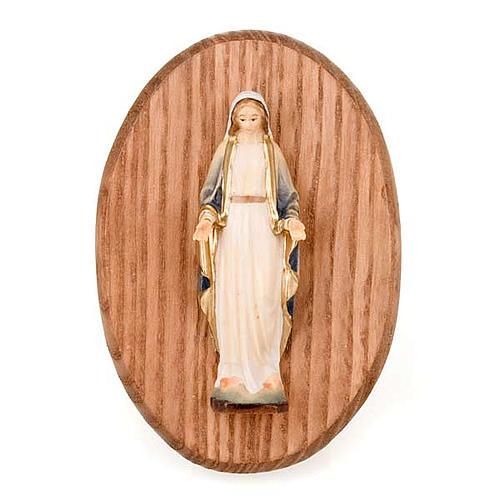 Quadretto con statua Madonna Miracolosa 1