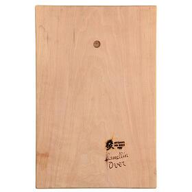 Baixo-relevo Sagrada Família madeira 30x20x5 cm Mato Grosso s5