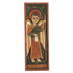 Baixo-relevo Arcanjo Gabriel Belém 12x5 cm