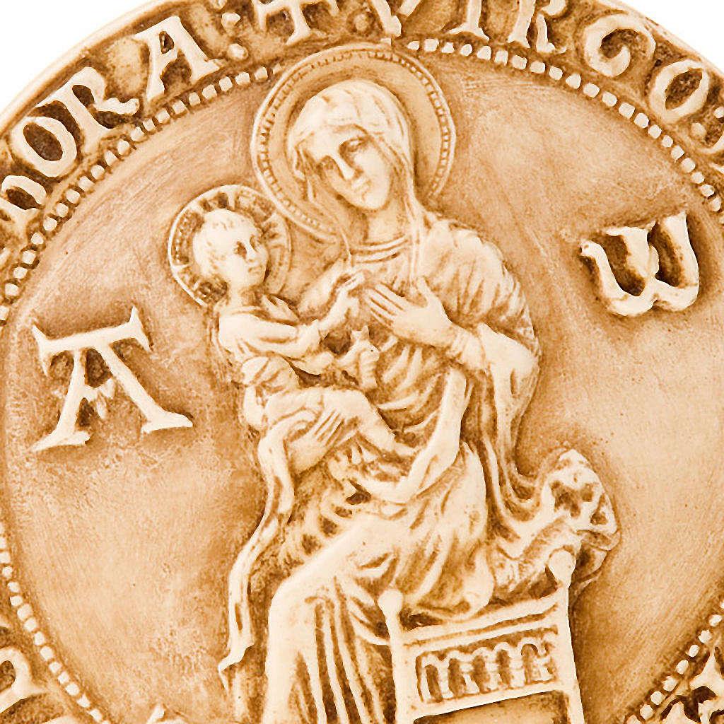 Bassorilievo Tondo Madonna con Gesù 4