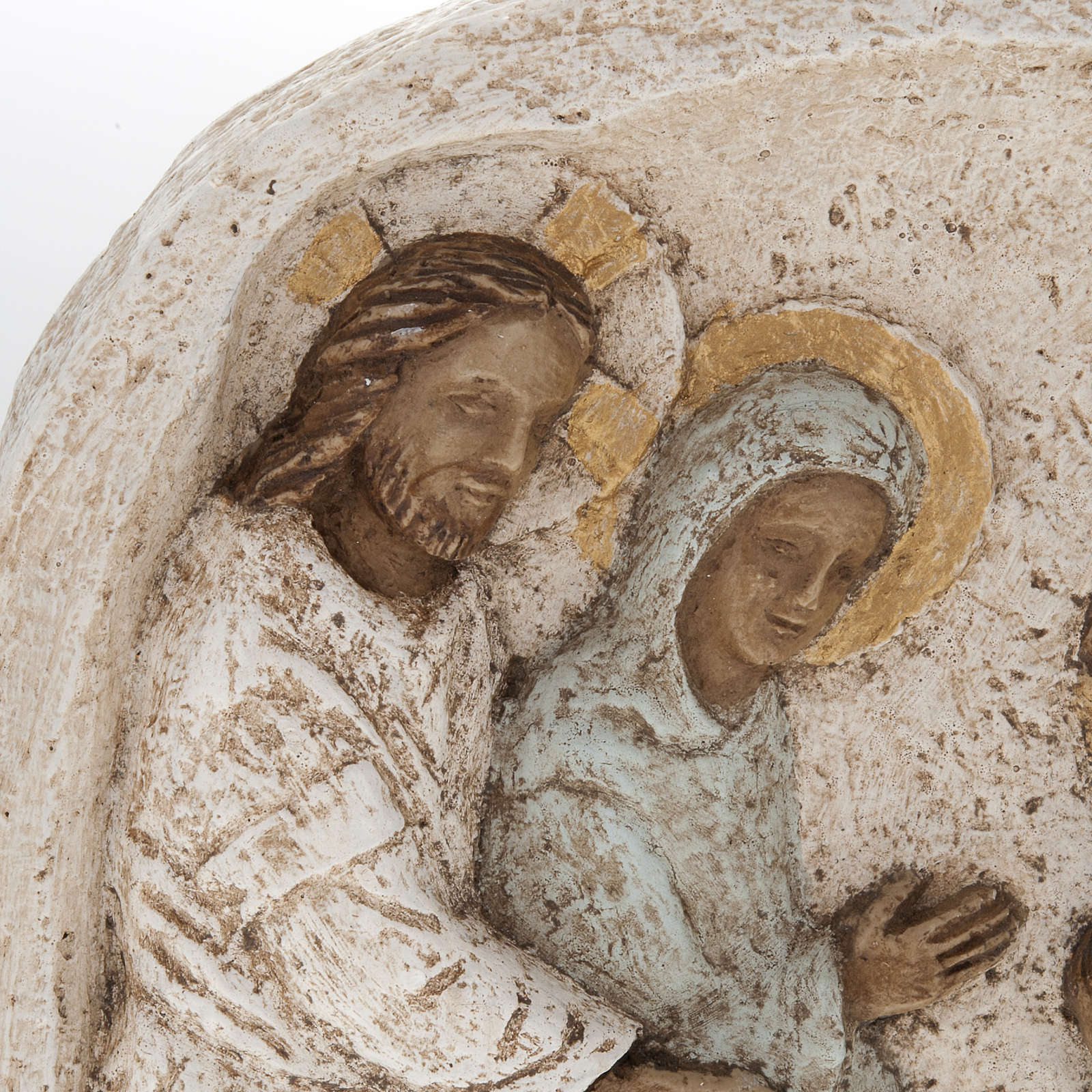 Bas relief with the wedding in Cana, stone, Bethleem Monastery 4