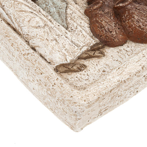 Bajorrelieve de piedra de la boda de Caná Bethléem 5