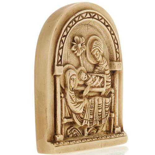 Natividad bajo relieve en piedra de Bethléem 2