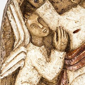 Ascension bas relief pierre Bethléem s4
