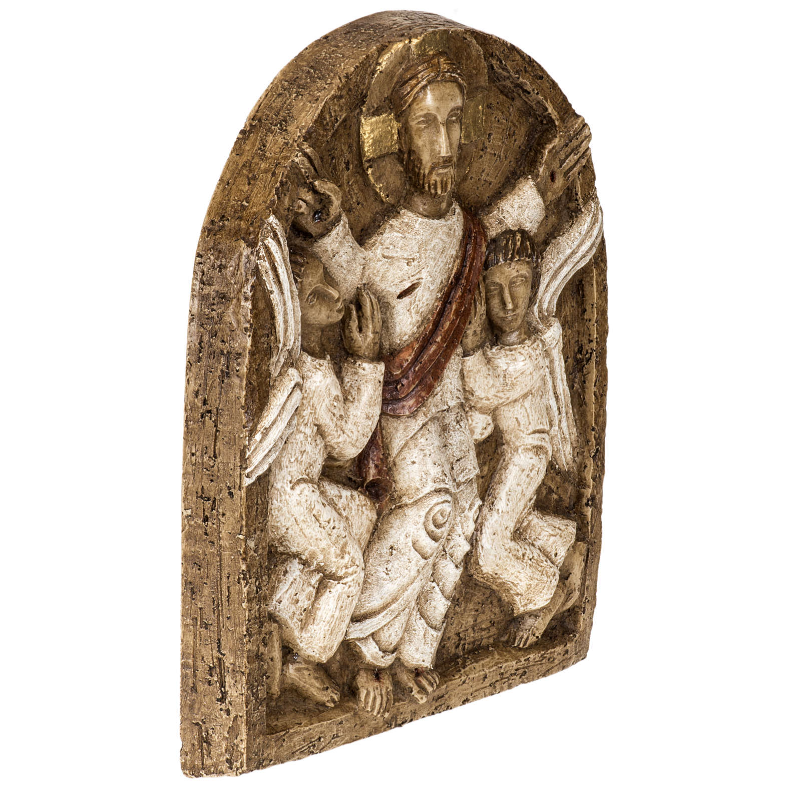 Ascensione bassorilievo pietra Bethléem 4