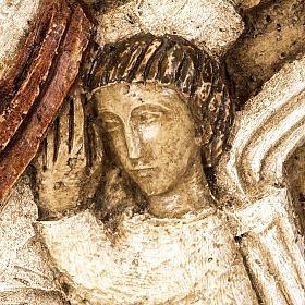 Ascensione bassorilievo pietra Bethléem s3