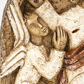 Ascensione bassorilievo pietra Bethléem s4