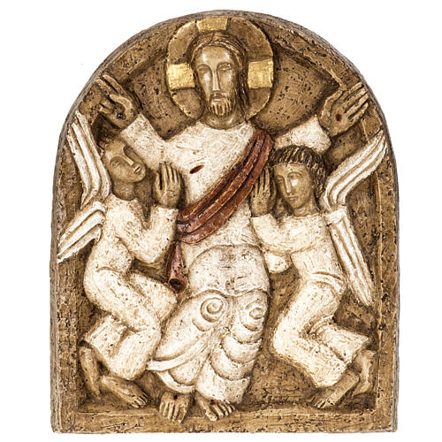 Ascensione bassorilievo pietra Bethléem 1