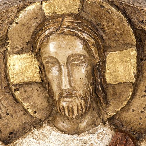 Ascensione bassorilievo pietra Bethléem 2