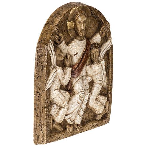 Ascensione bassorilievo pietra Bethléem 5