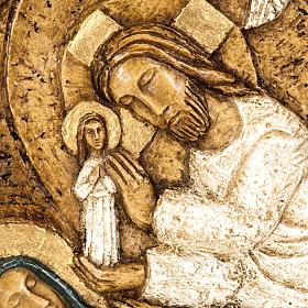 Flachrelief Stein Himmelfahrt Mariä Bethlehem s2