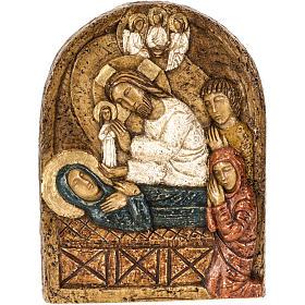 Bas reliefs en pierre: Assomption bas relief pierre Bethléem