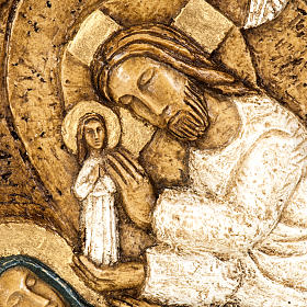 Assunzione bassorilievo pietra Bethléem s2