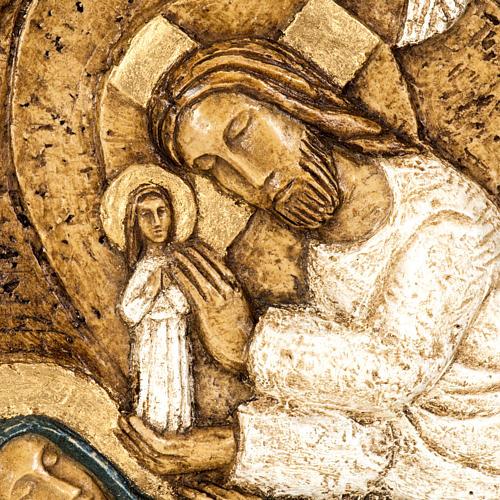 Assunzione bassorilievo pietra Bethléem 2