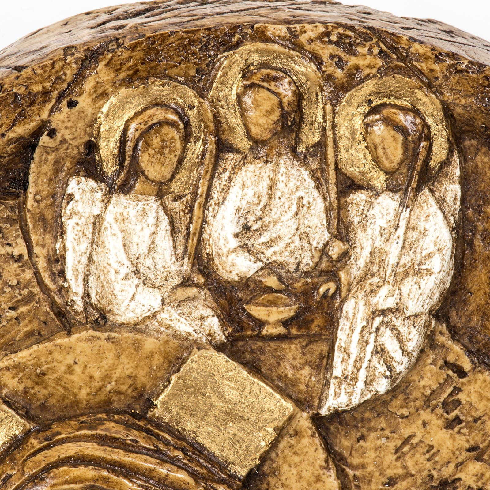 Assumption bas-relief in stone, Bethléem 4