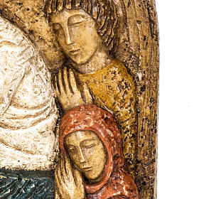 Assumption bas-relief in stone, Bethléem s4