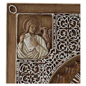 Gospel cover bas-relief, Resurrection, 33cm, stone s3