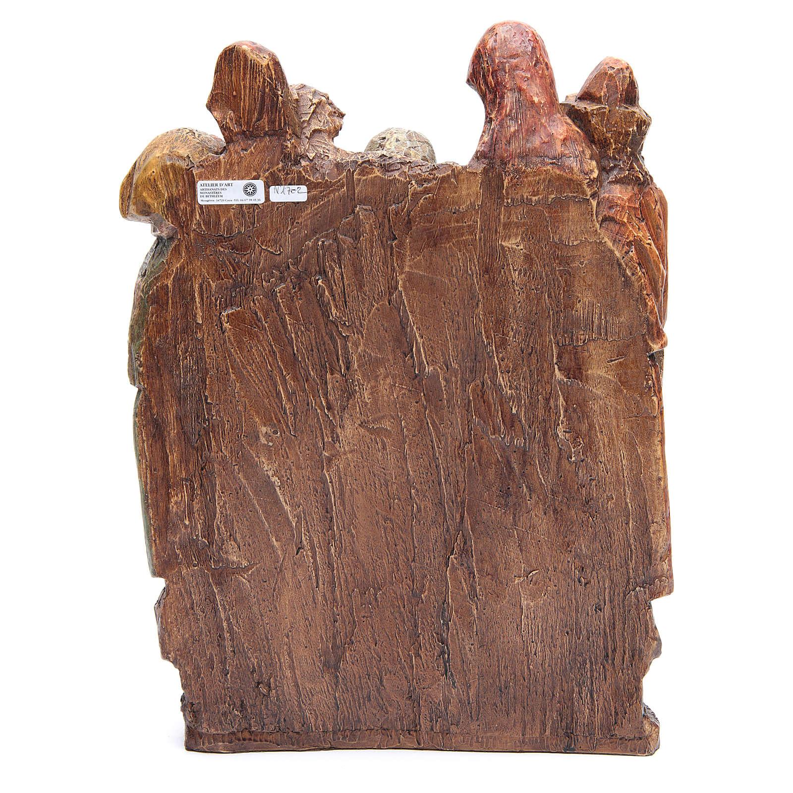 Mise au tombeau 38 cm pierre Bethléem 4