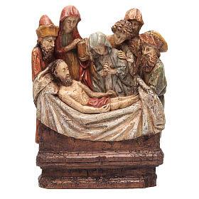 Mise au tombeau 38 cm pierre Bethléem s1
