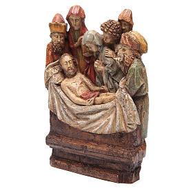 Mise au tombeau 38 cm pierre Bethléem s3