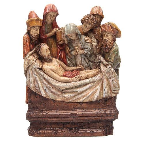 Mise au tombeau 38 cm pierre Bethléem 1