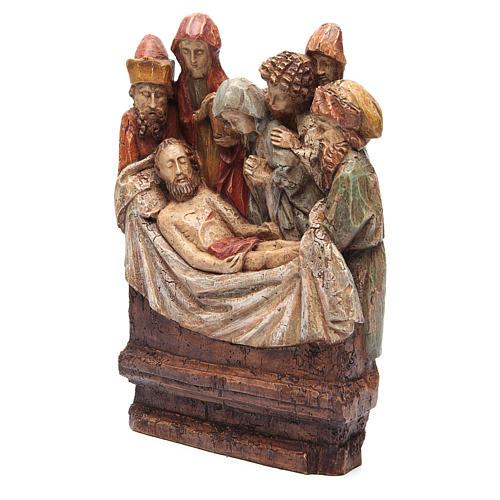 Mise au tombeau 38 cm pierre Bethléem 3