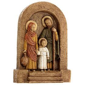 Bajorrelieve Sagrada Familia piedra Bethléem 25x20 cm s4