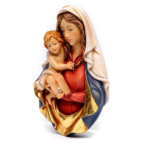 Bajorrelieve madera Virgen Raffaello 2