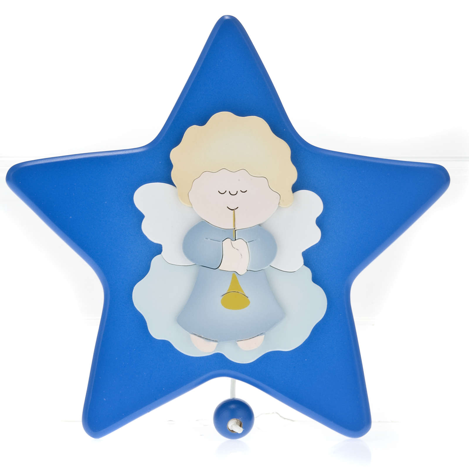 Musical box, star with guardian angel 4