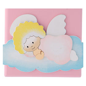 Cadre religieux Ange de Dieu sur nuage s3