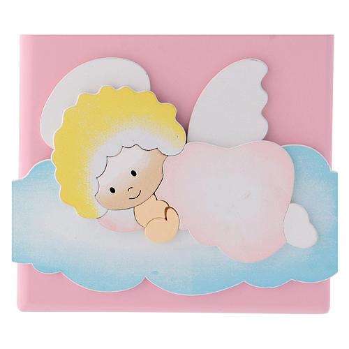 Cadre religieux Ange de Dieu sur nuage 3