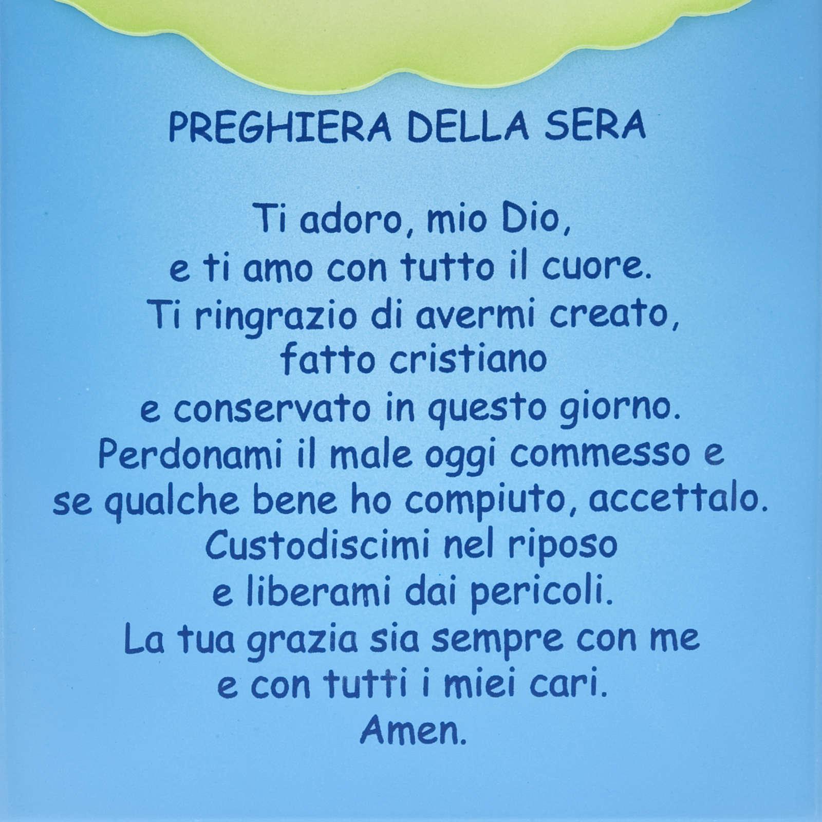 Pala bassorilievo Preghiera della Sera 4