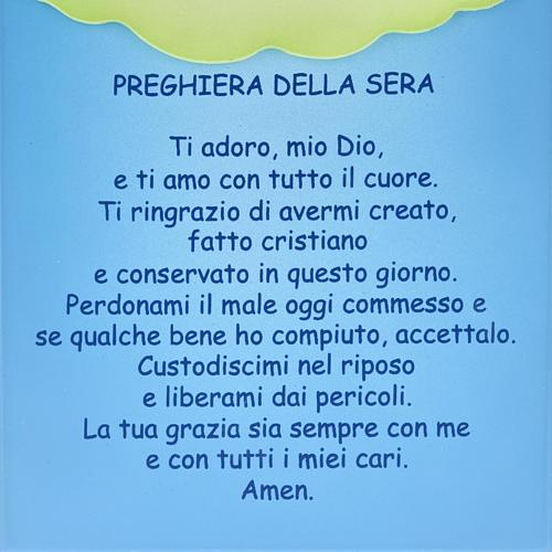 Pala bassorilievo Preghiera della Sera 3