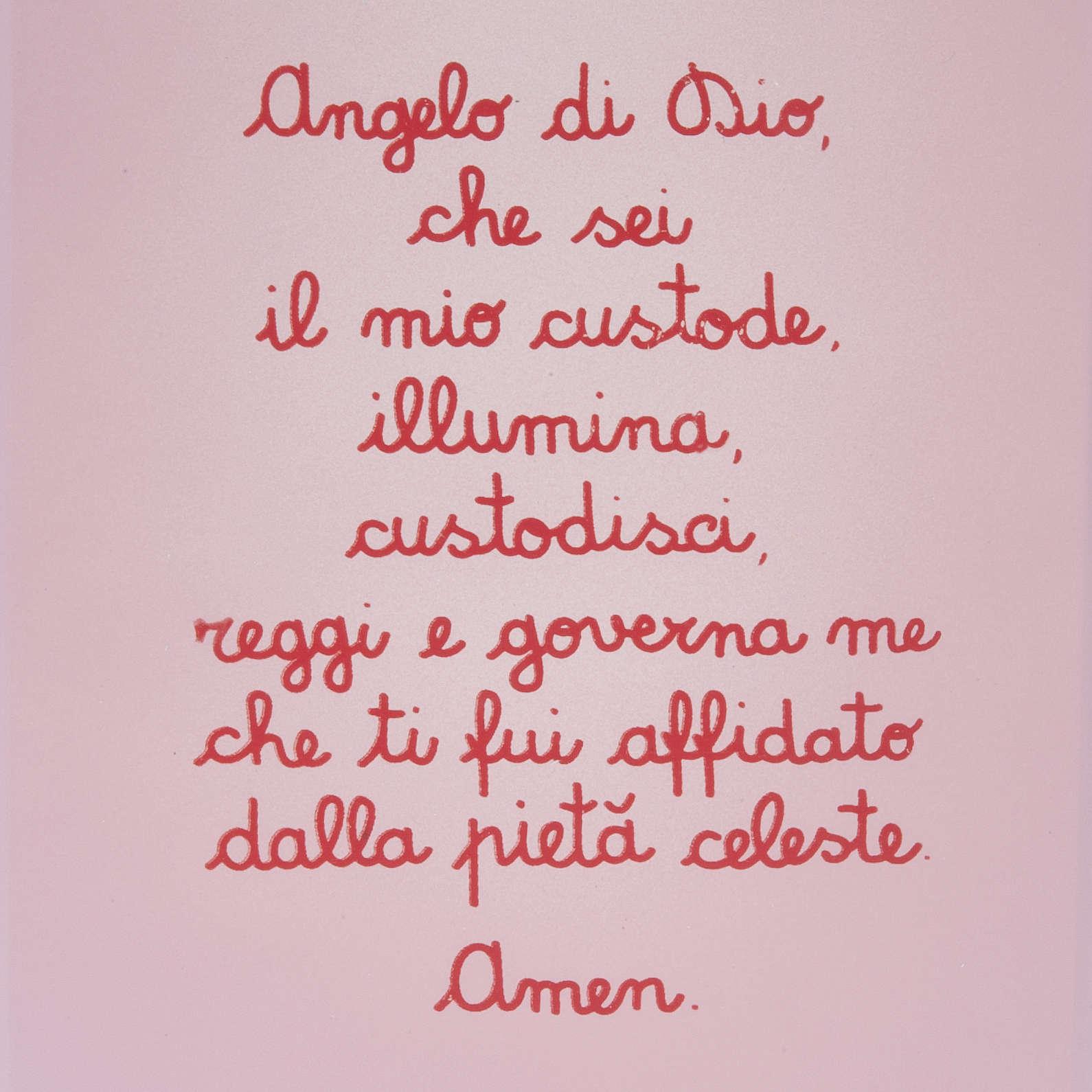 Pala bassorilievo Angelo custode con preghierina 4