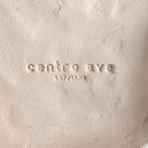 Cadre argile blanche Notre Dame de l'écoute 31 cm 4