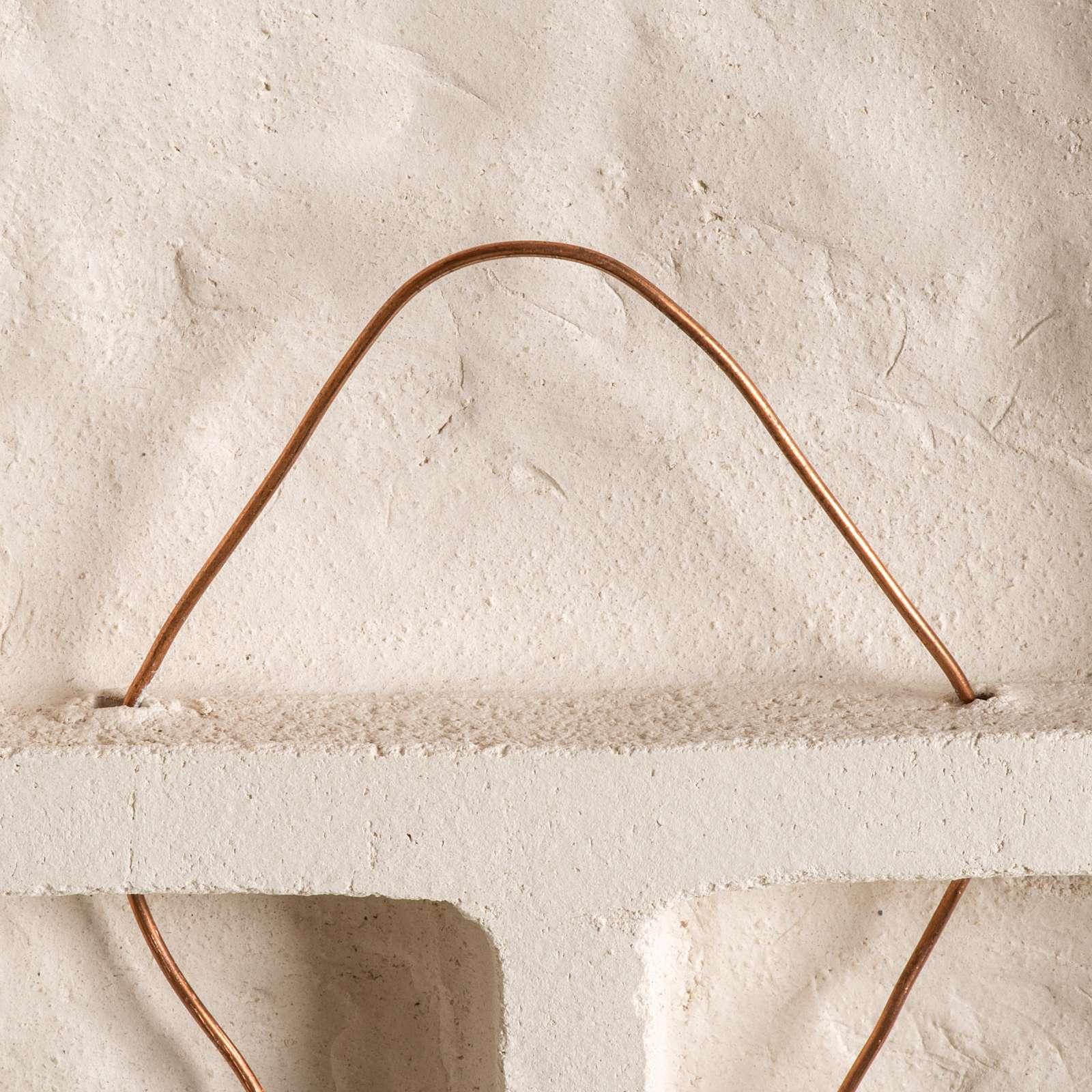 Bajorrelieve arcilla María Reina 47 cm 4