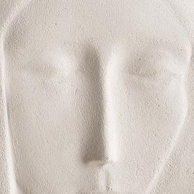 Bajorrelieve arcilla María Reina 47 cm s2