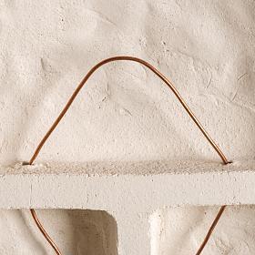 Bajorrelieve arcilla María Reina 47 cm s6