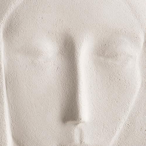 Bajorrelieve arcilla María Reina 47 cm 2