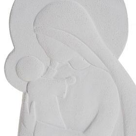 Bas relief Vierge à l'enfant mod. Confiance 21 cm s2