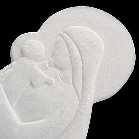Bas relief Vierge à l'enfant mod. Confiance 21 cm s3