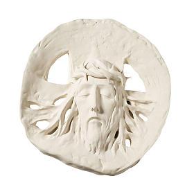 Bas relief Ecce Homo argile réfractaire 60 cm s1