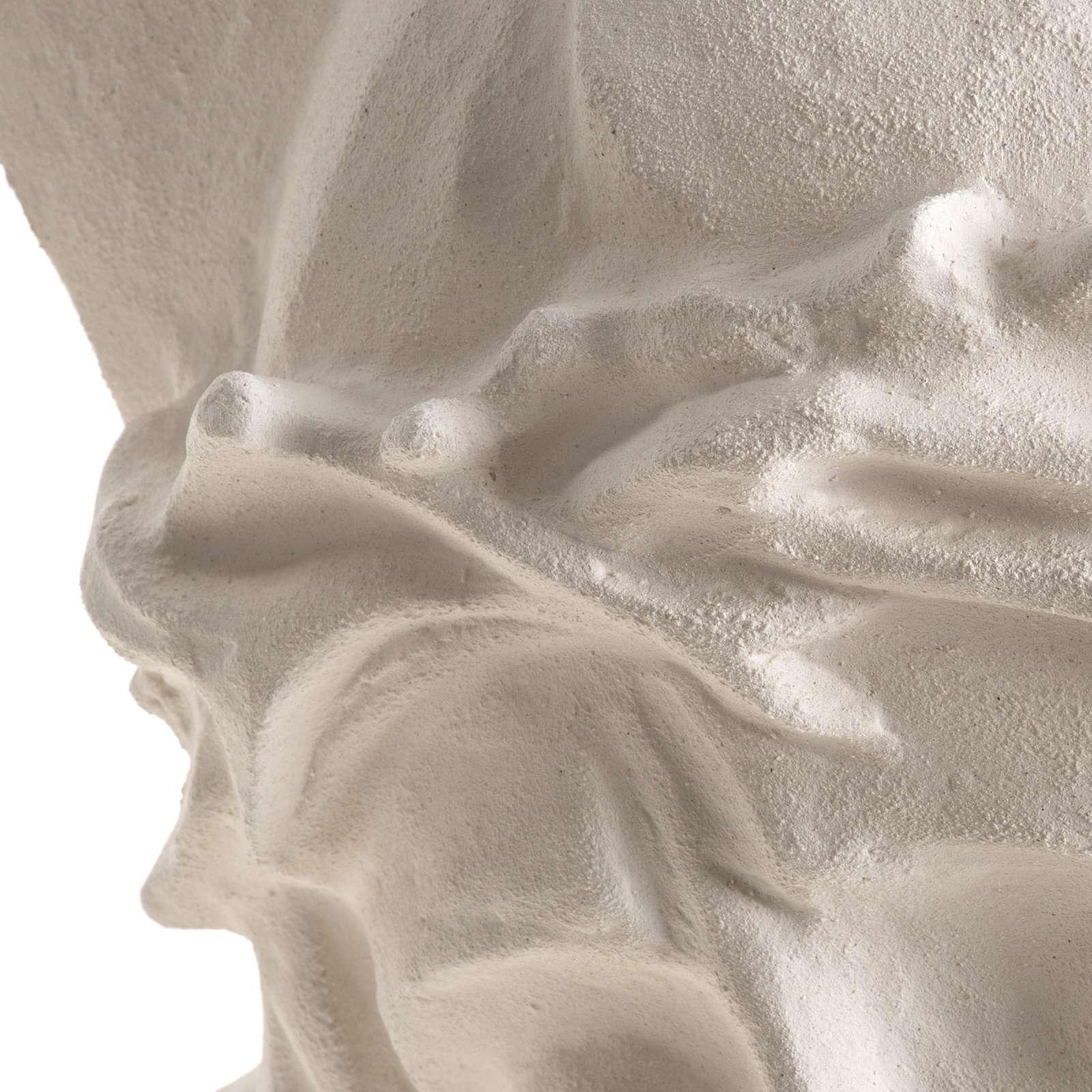 Bas-relief Jesus Christ face, 24 cm 4