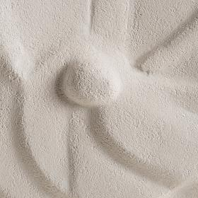 Tondo Natività argilla refrattaria s3