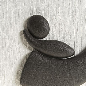 Quadro bassorilievo natività gres porcellanato 50x50 cm s3