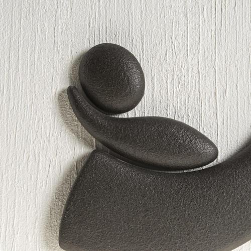 Quadro bassorilievo natività gres porcellanato 50x50 cm 3
