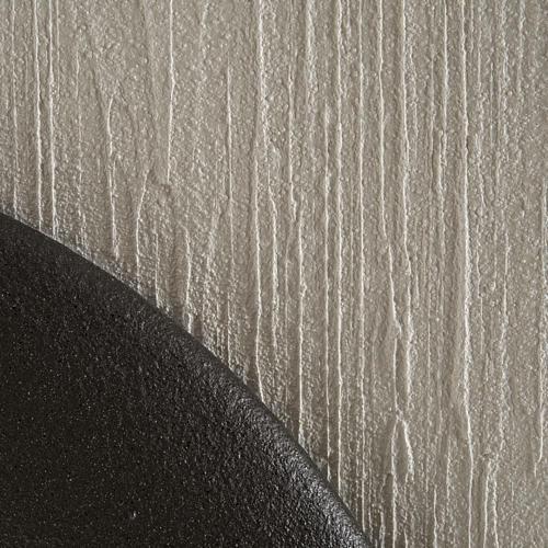 Quadro bassorilievo natività gres porcellanato 50x50 cm 5