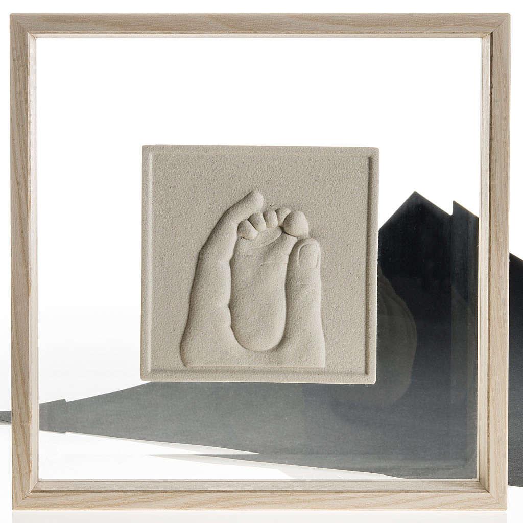 Cuadro en bajorrelieve Nacimiento de porcelana 4