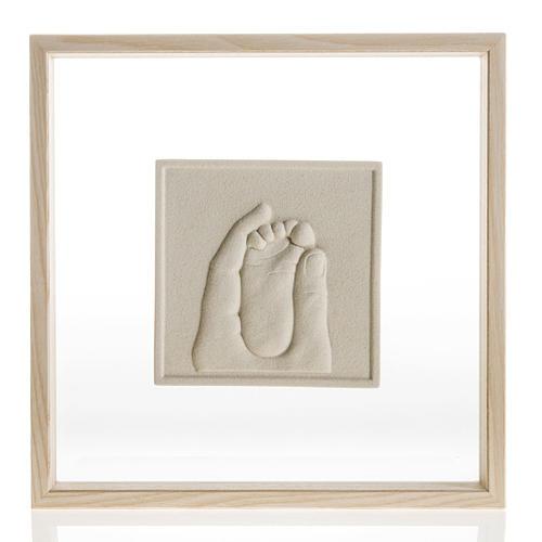 Cuadro en bajorrelieve Nacimiento de porcelana 1