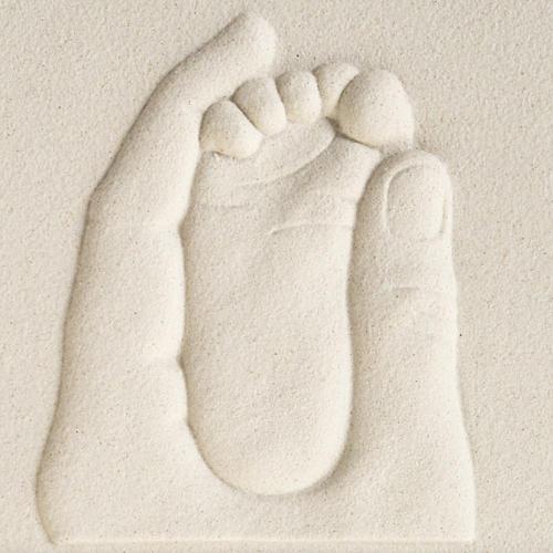 Cuadro en bajorrelieve Nacimiento de porcelana 2